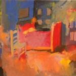 Vincent's bed