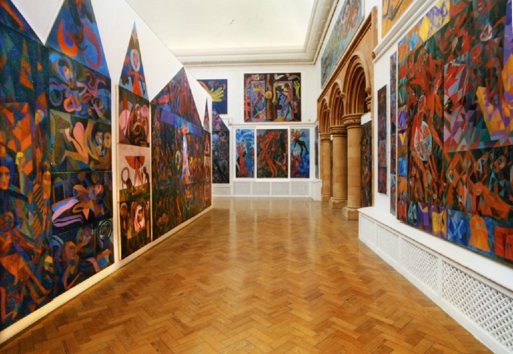 Byzantium at the Holden Gallery Manchester