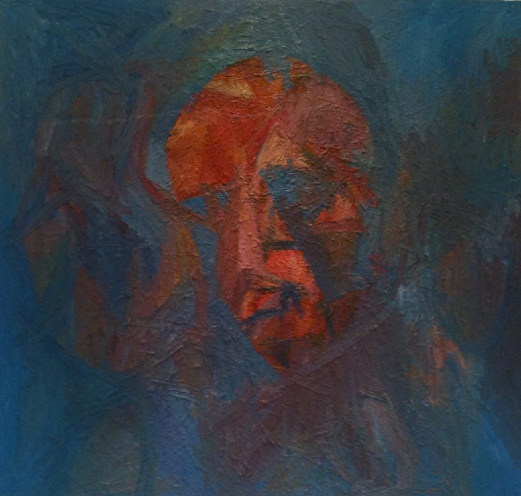 Self-portrait h.86cm x w.91.5cm