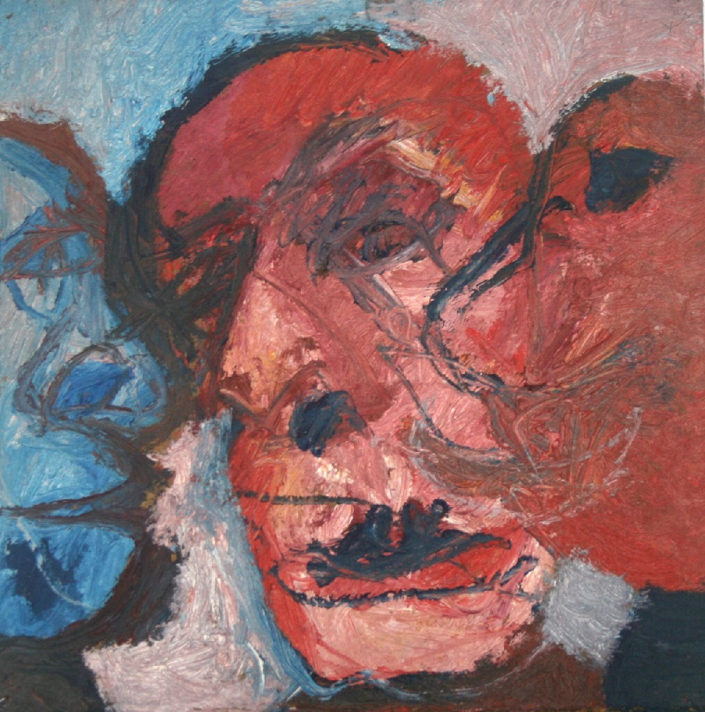Triple Self-portrait h.22.5cm x w.22.5cm