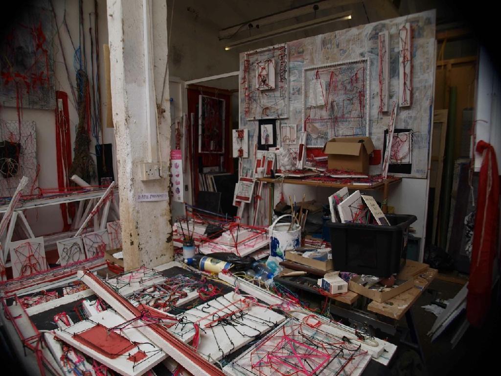 Dave's Studio - Globe Arts 2008