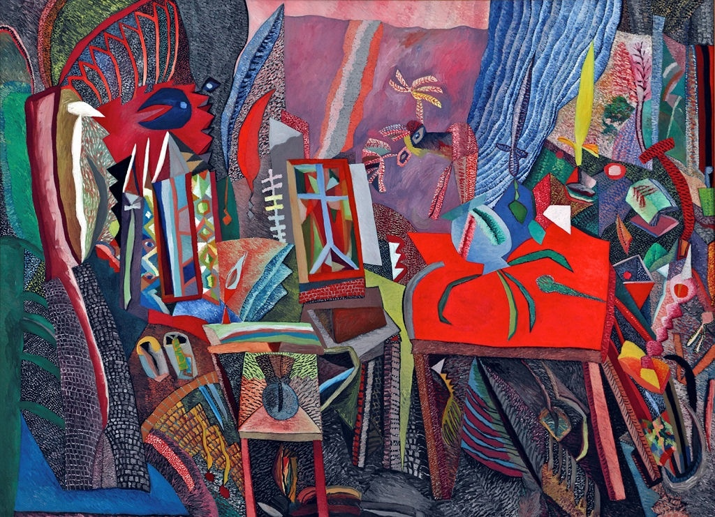 Autobiographical And Other Large Paintings Dave Pearson